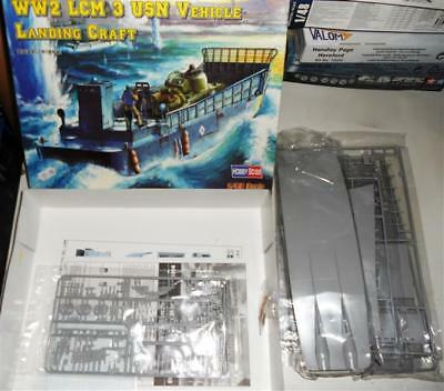1/48 - Hobby Boss - WWII LCM 3 US Navy Vehicle Landing Craft - 2nd Hand kit comp