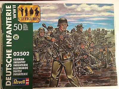 German Infantry WWII Revell 1/72