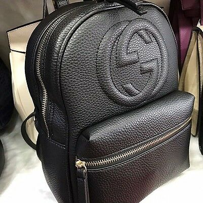 Women Hand Bag Backpack Brand Luxury Designer Black