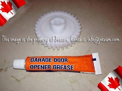 Garage Door Replacement Drive Gear & Grease For Most Openers #41A2817,41C4220A