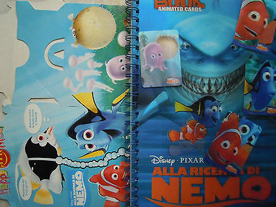 "Disney Prominter - Book + 4 Animated Cards ""alla Ricerca Di Nemo"""