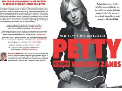Biography Memory of Tom Petty Rolling stones Fans Collectible Bio Musician MUST