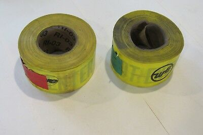 """Yellow Caution Do Not Enter """"we"""" Tape - Halloween Decoration 3""""X500' min roll"""