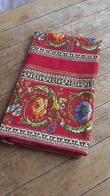 French Interiors Quality Colourful Fabric Panel Piece Curtain L 200 cm x W 90 cm