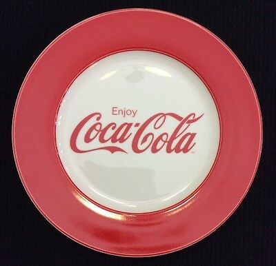 "1 Gibson ""Enjoy Coca Cola"" Dinner Plate 10.5"""