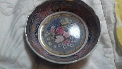 Bowl Oriental Made In Japan In Ex Con