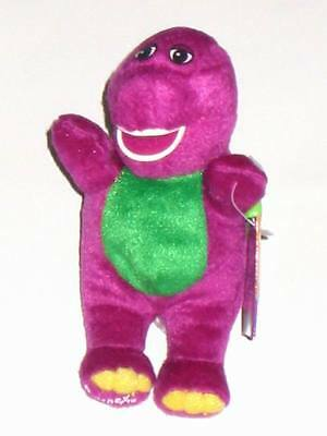 Barney - Soft Toy - 6 Inches With Belt Hook - BNWT