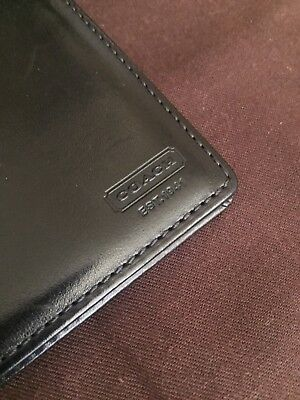COACH Leather Passport Case