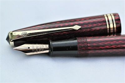 Vintage Mint CONWAY STEWART 77 - Fountain Pen - C1958 - UK - G F Trim