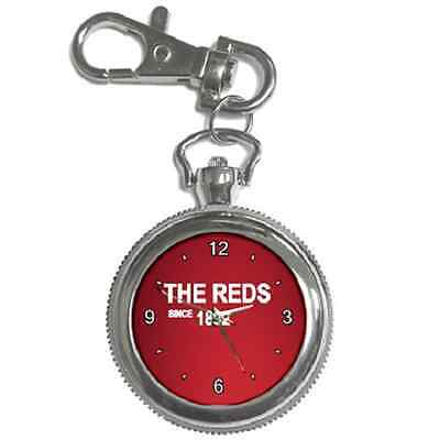 The Reds Since 1892 Liverpool Round Keychain Watch **superb Item**
