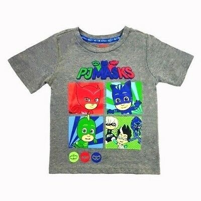 Toddler Boys PJ Masks Graphic Shirt New with Tags Size 4T Popular TV Show Kids