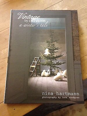 "Vintage by Nina Hartman ""A Winter's Tale"" - magical Christmas and winter book"