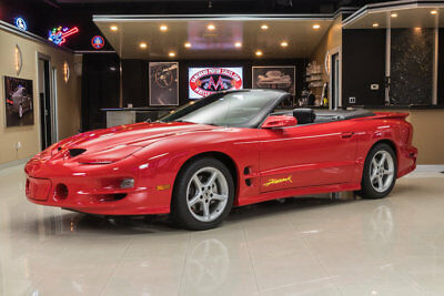 2002 Pontiac Firebird Trans Am Convertible 2-Door Documented, 1 Owner TA Firehawk! 4,362 Miles, LS1 6-Speed, 1 of 26, Time Capsule