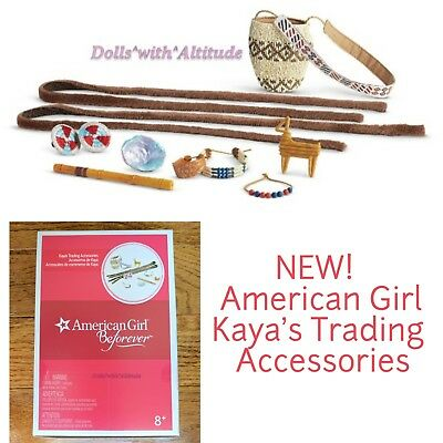 American Girl Kaya's Trading Accessories for 18in Doll NEW IN BOX