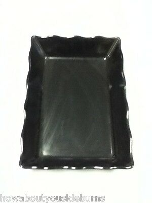 Melamine G.E.T. ML-88 deli restaurant bar black serving tray platter one AC5