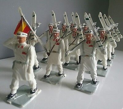 REAMSA toy soldiers - Spanish ski-troopers 60' made in Spain