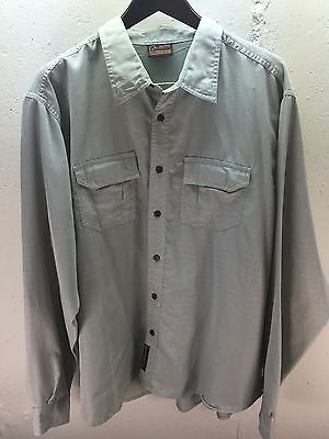 Men's Ducks Unlimited Canada Long Sleeve Button Up Outdoors Shirt Size Xxl