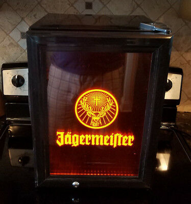 Jager Jagermeister Counter Top Freezer Bar Mini Fridge Refrigerator