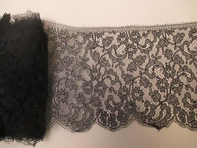 Antique Victorian Chantilly Lace Yardage