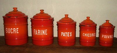 Vintage Enamel Containers