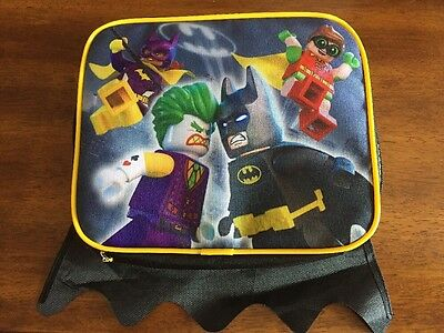 Batman Lego Movie Lunch Bag With Removable Cape