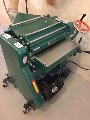 """USED - G5850Z Grizzly 20"""" Professional Wood Planer w/ 5 HP Single-Phase Motor"""