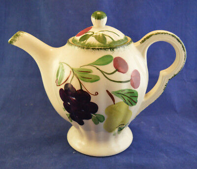 Vintage Blue Ridge China Southern Potteries Fruit Coffee or Tea Pot w/Lid