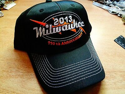 Milwaukee 110th Harley Davidson Dealership Hat Classic Factory HD Motorcycle Cap