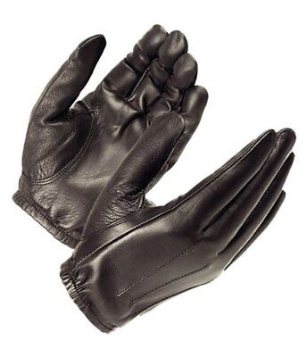 Hatch Dura-Thin Police Search Glove, SG20P Black Leather Size Medium Driving