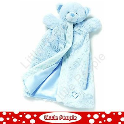 Nat And Jules   Puppet Blanket Blue Plush Toy