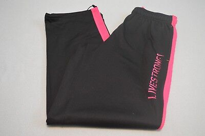 """Nike Livestrong mens Size L Therma Fit Pink athletic pants sports workout """"D"""""""