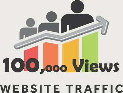 Over 100,000 Views for your website/blog real Web TRAFFIC + Live stats