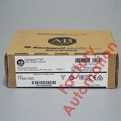 2017*FACTORY SEAL* Allen-Bradley CompactLogix High-Speed Counter Module 1769-HSC