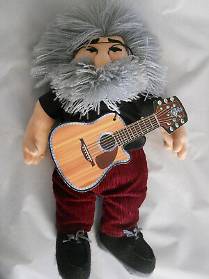 """Jerry Garcia Doll 19"""" Grateful Dead The Jerry Doll by Gund for Liquid Blue"""