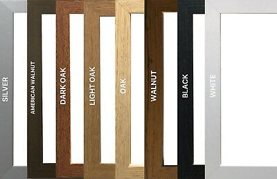 A1,A2,A3,A4,A5,A6 Wooden Effect Modern & Stylish Photo/Picture/Poster Frames