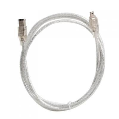 IEEE 1394 FireWire iLink DV Cable 4 pin to 6 pin M/M 4 ft for PS2