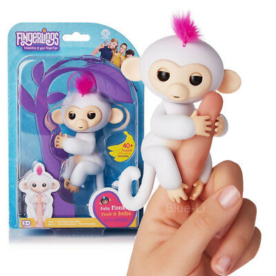 Acali Cute Finger Toy Baby Monkey Electronic Interactive