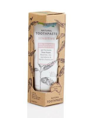NATURAL FAMILY & Co Dentifricio Sensitive Vegano con Potassio Nitrato