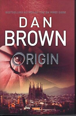 ORIGIN - Dan Brown - NEW Hardcover - FREE FAST P & H in Australia