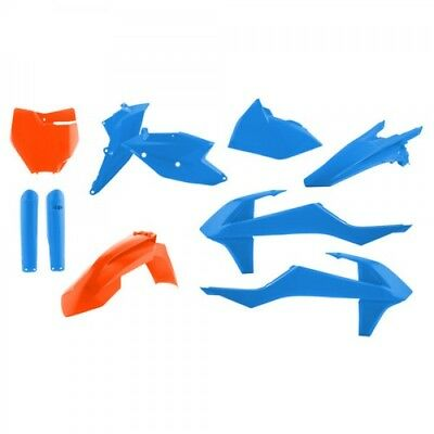 Acerbis Tld Edition Plastik Plastiksatz Kit Ktm Sxf 250 350 450 16- Blau Orange