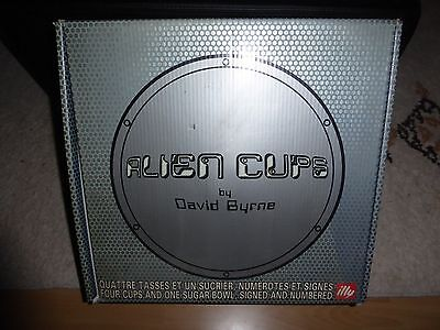 Illy Collection 2000 * Alien Cups Ufo * David Byrne  - Ovp