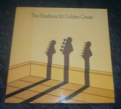The Shadows 20 Golden Greats Emi Emtv3  Vinyl Lp