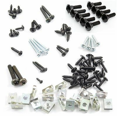 Mega Set Cover Screw PIAGGIO ZIP 4 Stroke Screws + Clips - 84 Parts