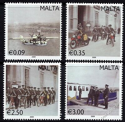 Malta 2009 Vintage Postal Transport Complete Set SG1615 - 1618 Unmounted Mint