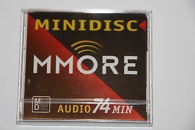 Minidisc MMORE 74 RARE!!!! NEW!! MINT!!! Made in Japan