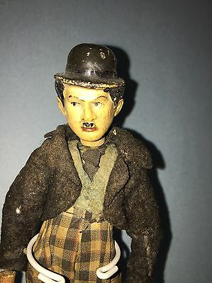 Early Antique Charlie Chaplain Comic Character Bucherer Switzerland Original NM+