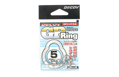 Decoy R-6 GP Ring Super Strong and Small Solid Rings Size 5 (5052)