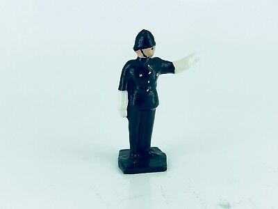 Dinky 42d | Point Duty Policeman | White Metal