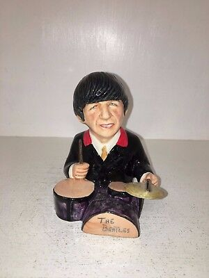 Manor Collectables Ringo Starr Limited Edition Toby Jug 568 of 1963 *MINT*