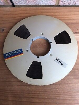 "Ampex 10.5"" Spool - Silver - 1 Piece - 1/2"" Tape"